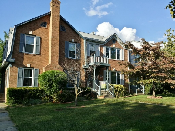 The townhouses of Fair Woods subdivision Fairfax, VA