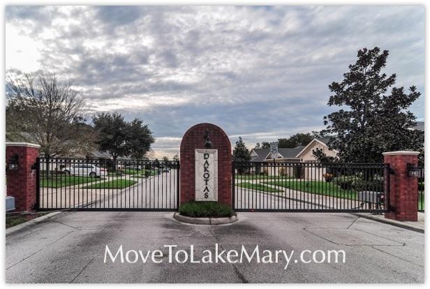 The Dakotas a gated community in Sanford, Florida