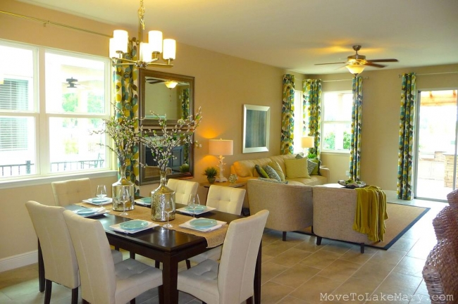 New Homes for sale at SilverLeaf - Plan 1973 - Dining : Family Room